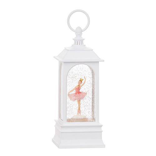Raz Imports Dancing Ballerina Musical Lighted Water Lantern