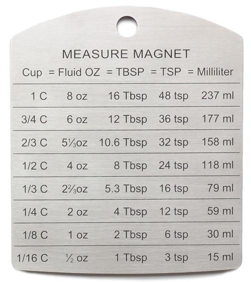 RSVP Endurance® Measure Magnet