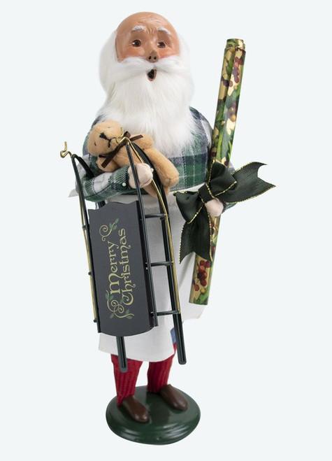Byers' Choice Caroler, Gift Wrap Santa (3801E)
