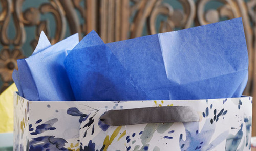 The Gift Wrap Company Solid Gift Tissue, Royal Blue