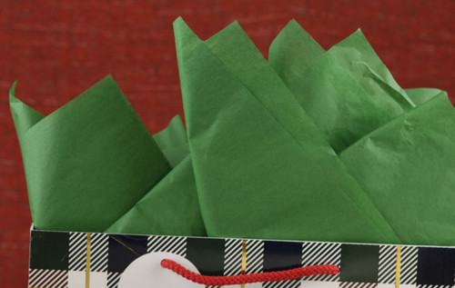 The Gift Wrap Company Solid Gift Tissue, Green
