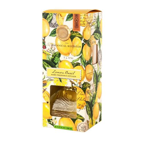 Michel Design Works Home Fragrance Diffuser, Lemon Basil