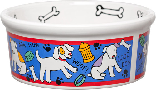 Signature Housewares Spot Dog Bowl, Large (71350)