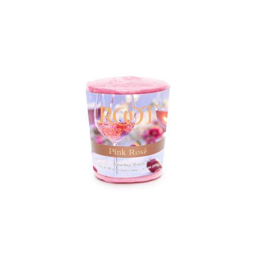 Root 20hr Votive Candles, Pink Rosé