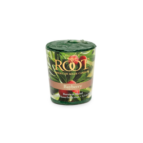 Root 20hr Votive Candles, Bayberry