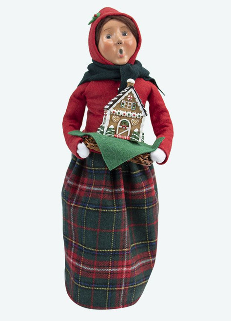 Byers' Choice Caroler, Gingerbread Woman (4461F)
