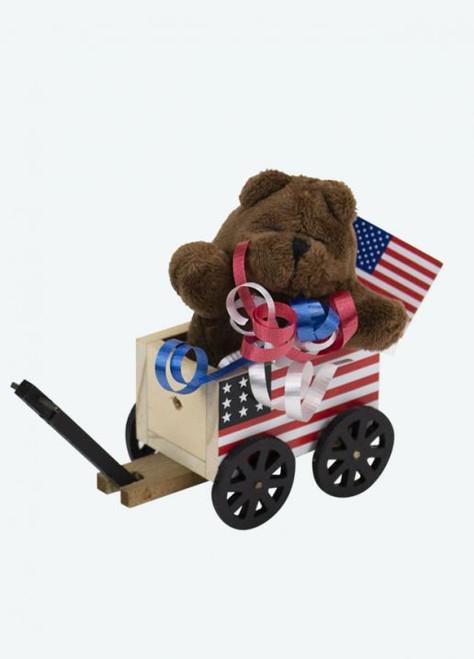 Byers' Choice Flag Wagon (5144W)