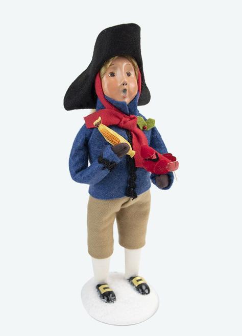 Byers' Choice Caroler, Colonial Cardinal Boy (5204)