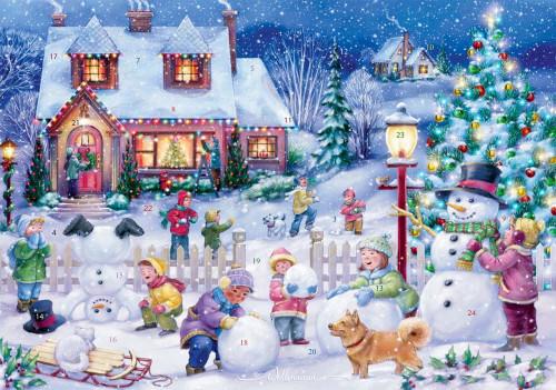 Vermont Christmas Company Advent Calendar, Snowman Celebration