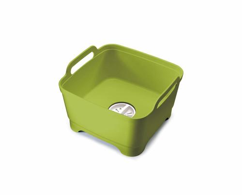 Joseph Joseph Wash&Drain™ Washing-up Bowl, Green