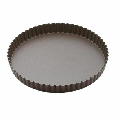"HIC Non Stick 9.5"" Quiche Pan with Removable Bottom"
