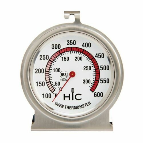 HIC Kitchen Large Face Oven Thermometer