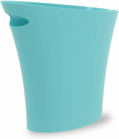Umbra Skinny Trash Can, Surf Blue