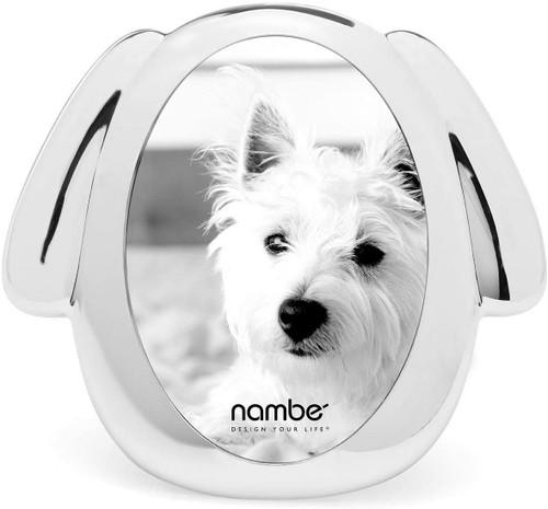 """Nambe Dog Frame, 3"""" x 5"""""""