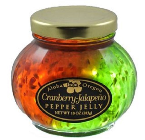 Aloha from Oregon Split Cranberry and Jalapeño Pepper Jelly