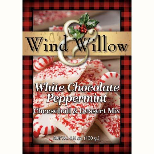 Wind & Willow Cheeseball & Dessert Mix, White Chocolate Peppermint