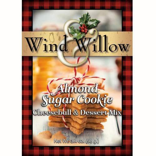 Wind & Willow Cheeseball & Dessert Mix, Almond Sugar Cookies