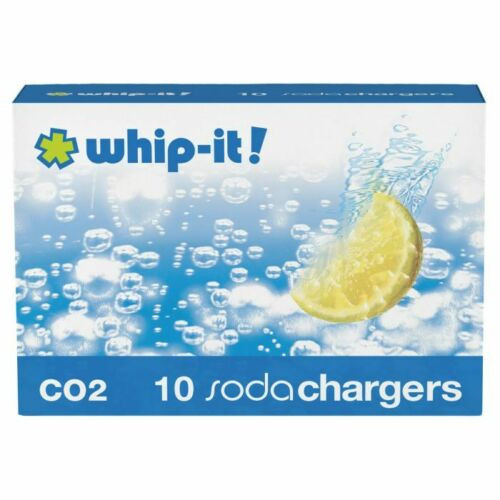 HIC Whip it Co2 Soda Charger, Pack of 10