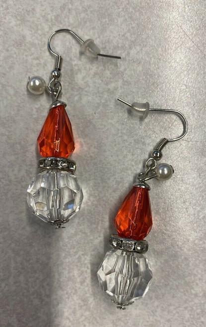 Midwest CBK Santa Hat Earrings