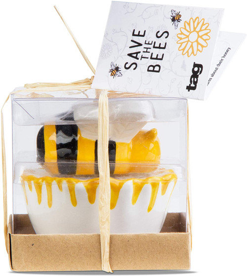 TAG Bee & Blossom Salt and Pepper Set