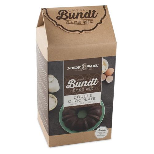 Nordic Ware Double Chocolate Bundt Cake Mix (77724)