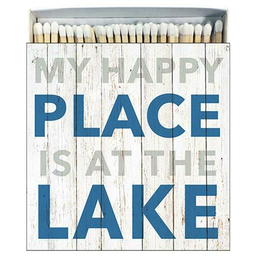 Paperproducts Design At the Lake Decorative Square Box Matches