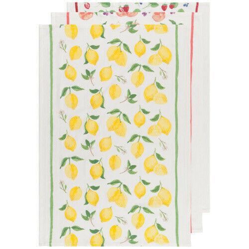 Now Designs Fruit Salad Tea Towel, Set of 3