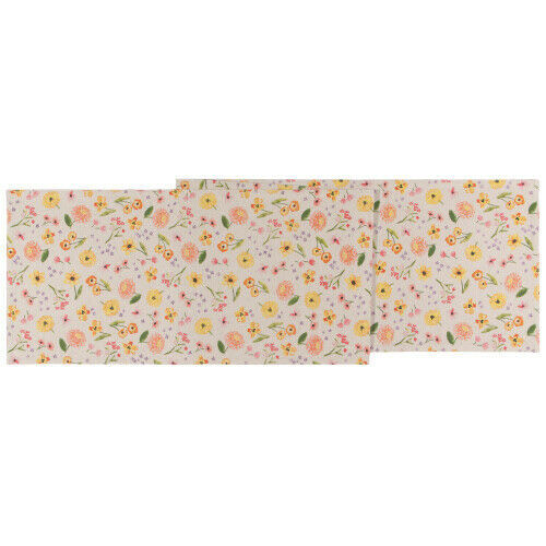 Now Designs Cottage Floral Table Runner