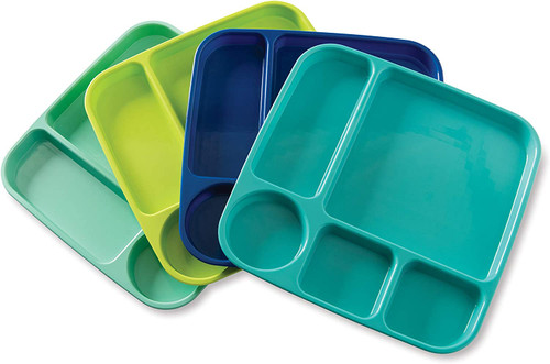Nordic Ware Coastal Meal Trays, Set of 4 (69600)