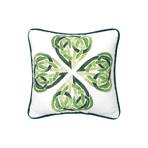 C&F Home Clover Knot Pillow (8121713)
