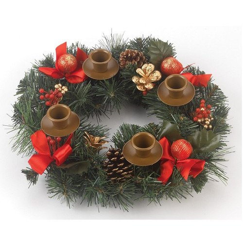 Vermont Christmas Company Berry Advent Wreath (VC909)