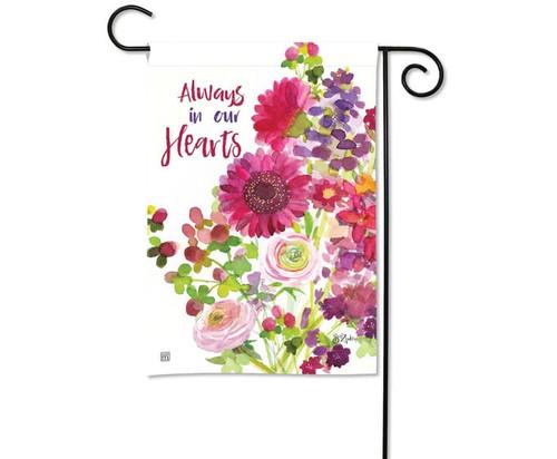 Studio M Heartfelt Bouquet Garden Flag