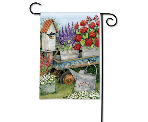 Studio M Garden Wagon Garden Flag