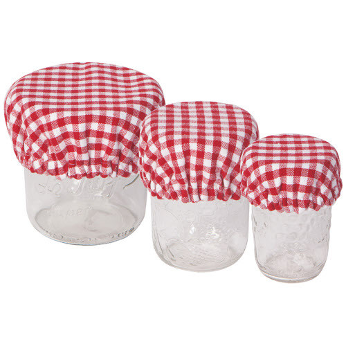 Now Designs Gingham Mini Bowl Covers, Set of 3