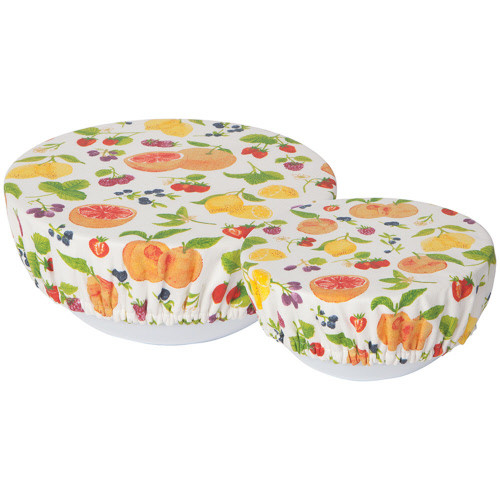 Now Designs Fruit Salad Bowl Cover, Set of 2