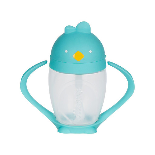 Lollaland Lollacup: Weighted Straw Sippy Cup, Cool Turquoise
