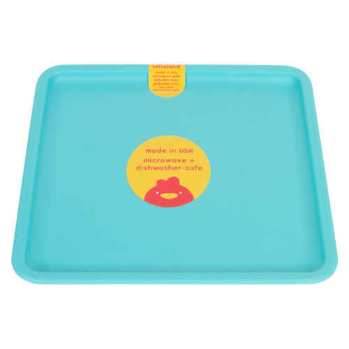 Lollaland Plate, Cool Turquoise