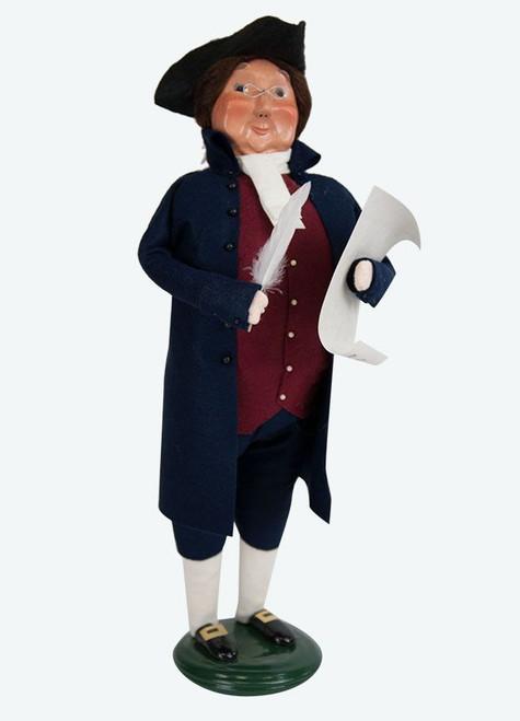 Byers' Choice Caroler, Ben Franklin (ZBC21X)