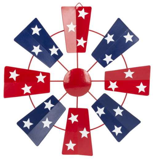 Ganz Americana Windmill Wall Plaque