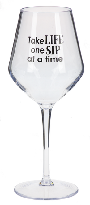 Ganz Contempo Wine Glasses, One Sip at a Time