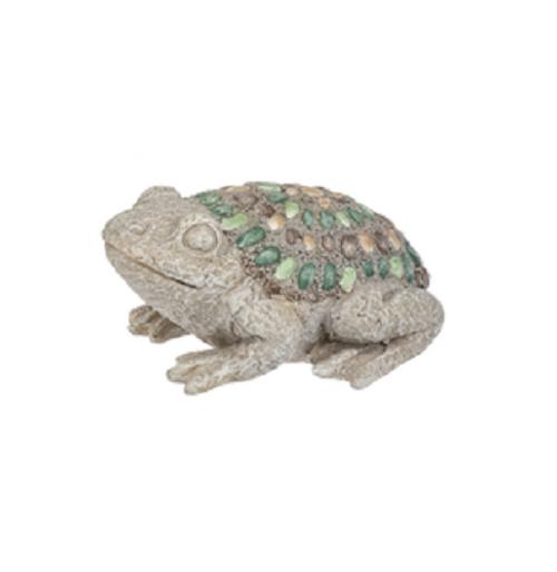 Ganz Mosaic Pebble Mini Critter Figurines, Frog
