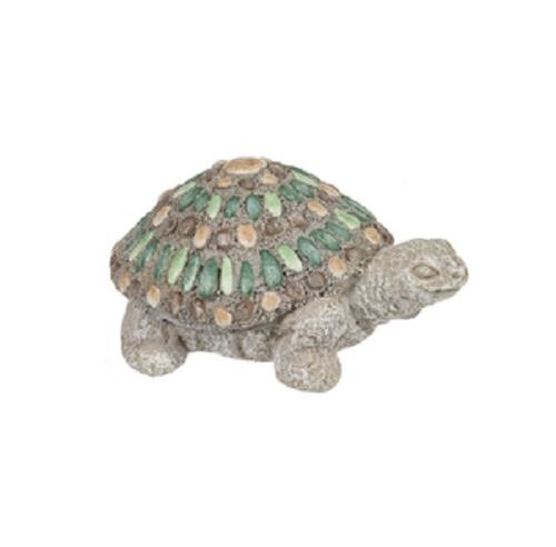 Ganz Mosaic Pebble Mini Critter Figurines, Turtle