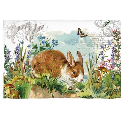 Michel Design Works Scatter Rug, Bunny Hollow