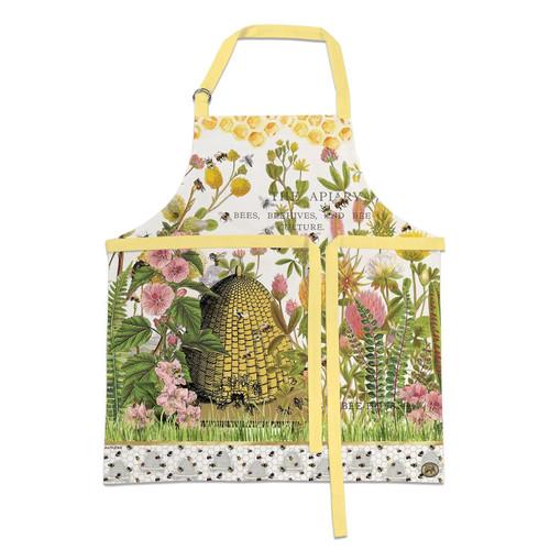 Michel Design Works Cotton Apron, Honey & Clover