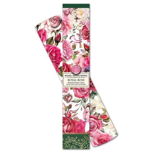 Michel Design Works Scented Drawer Liners, Royal Rose
