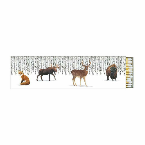 Paperproducts Design Long Matches, Wilderness Animals