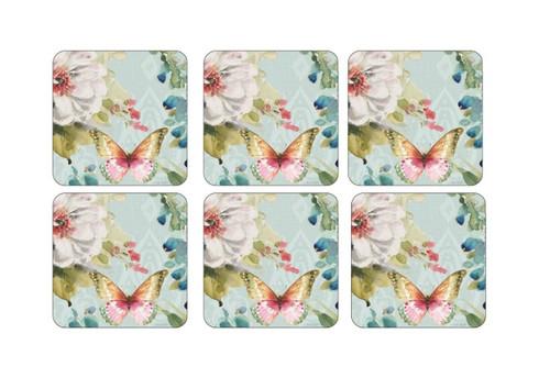 Pimpernel Coasters, Colorful Breeze, Set of 6