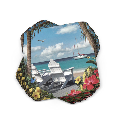 Pimpernel Coasters, In the Sunshine, Pack of 6