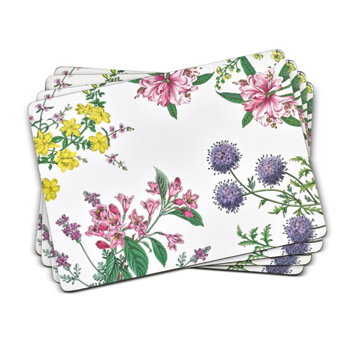 Pimpernel Placemats, Stafford Blooms, Set of 4
