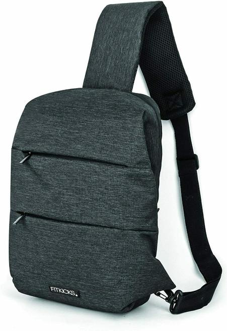 DM Merchandising Fitkicks Sling Bag, Black